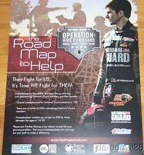 2013 Jr Hildebrand Road Map To Help Chevy Dallara Indy Car postcard