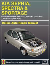2006 Kia Sportage Haynes Online Repair Manual-90 Day Access