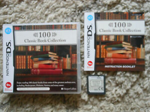100 CLASSIC BOOK COLLECTION * NINTENDO GAME DS / DS LITE / DSi