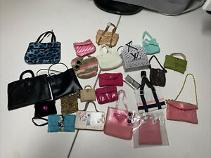 Lot of Vintage Barbie Bags, Purses, Totes, Briefcases, Cluctches, Accessories!