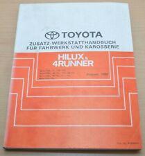 Toyota Hilux 4Runner YN PN LN 80 81 Fahrwerk Karosserie Werkstatthandbuch 1991