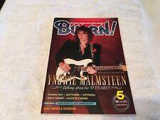 Magazine Burrn yngwie magazine Japanese guitar may 2014 5 Angela gossow poster
