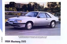 1984 Ford Mustang SVO Turbo Info/specs/photo/prices 11x8