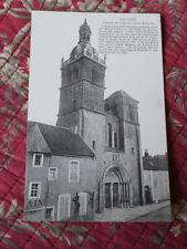 CPA Le Morvan  Saulieu Façade de l'église St-Andoche Côte d'Or