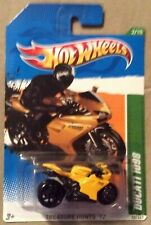 2012 HOT WHEELS TREASURE HUNTS SERIES DUCATI 1098 Limited Edition Rare Super 2