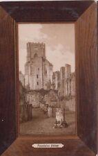 Fountains Abbey Vintage Postcard