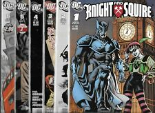 KNIGHT AND SQUIRE #1-#6 SET (NM-) DC COMICS