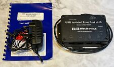 USB Isolated Four Port HUB from B&B electronics