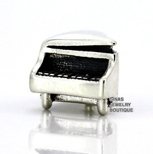 Authentic.925 Solid Sterling European Charm Fit PAN BRACELET ~ PIANO ~