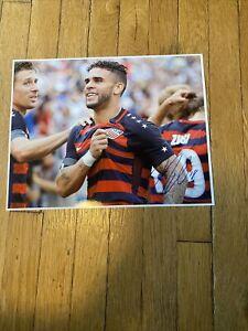 Dom Dwyer USA signed Orlando City FC 11x14 photo autographed MLS Soccer TORONTO