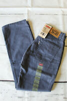 Boys Levis 514 Slim Straight Jeans Vintage Blue Size 10 12 14  16 with Tags