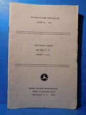 Railroad Accident Investigation Report #4164 Penn Central Co 1970