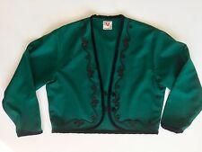Stefanel Blazer Jacke Jacket Tracht Janker 43% Schurwolle braun Gr 38 40  42 M