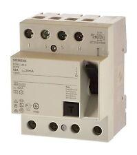 Siemens 5SM3346-6KK12 Fi Schalter 63/0,03 4polig