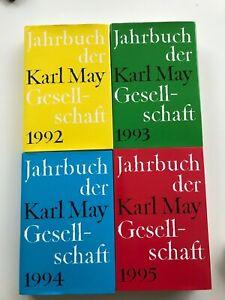 Jahrbücher der Karl May Gesellschaft 1992 - 1995 Hansa Verlag Husum
