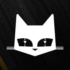 Sev Marchal Cat Logo JDM Sticker Drift Japan Die-Cut Decal