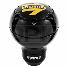 MOMO SK51 Gear Knob - Anodised Black Body