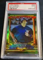 1994 B.J. SURHOFF FINEST REFRACTOR #344 PSA 9 BREWERS POP 2 (502)