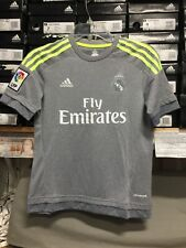 Adidas Away Jersey Youth (boys) Gray Neon Size Youth Extralarge  Only