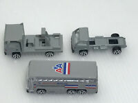 Lot of 3 Daron RealToy 1/64 Scale American Airlines Bus Trucks