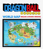 Dragon Ball Z map, DBZ map ,Son Goku Wall art, Dragon Ball rare unique poster