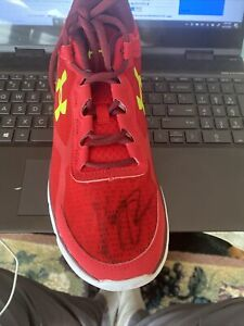 Klay Thompson Golden State Warriors Signed Under Armour Shoe w/JSA:S77656