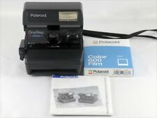 Vintage Original Polaroid OneStep Close Up Camera with Manual & 600 Film TESTED