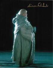 Simon Fisher-Becker autographed 8x10 Photo COA HARRYPOTTER Fat Friar