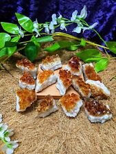 Citrine Crystal Cluster | A Grade High Quality | Witchcraft Wicca | Natural