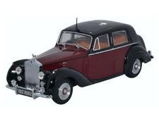 Oxford 43RSD001 PKW Rolls-Royce Silver Dawn maroon & black 1/43
