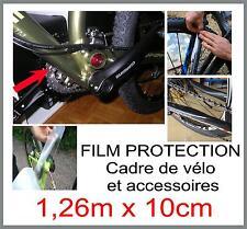 film protection cadre vélo / chaîne vélo / projections