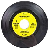 Teddy Neeley - One More Tear/Autumn Afternoon - 1968 Capitol P-2159 PROMO