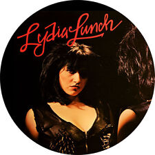 CHAPA/BADGE LYDIA LUNCH . no wave nick cave birthday party pin button contortion