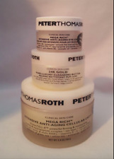 PETER THOMAS ROTH MEGA RICH INTENSIVE ANTI-AGING CELLULAR CREME, EYE CREME & 24K