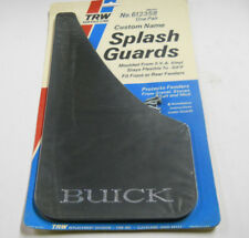 Nos: 2 Vintage Classic Black Buick Custom Sport Splash Guards