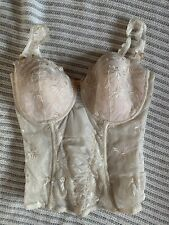 Marie Jo Bridal Lingerie Basque UK 34E Brand New With Tags