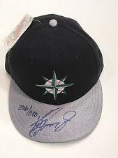Ken Griffey Jr Signed Mariners new era 1997 baseball Hat cap UDA COA LE /240 hof