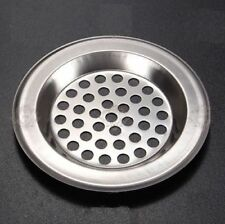 1 x Metal Sink Strainer Bath Tub Basin Plug Hole Filter Kitchen Bathroom WC