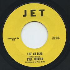 Hear - Rare Country 45 - Paul Johnson - Like An Echo - Jet Records # 95699 - M-