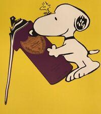 Snoopy Spray Can by DEATH NYC Ltd Ed Pop Art Peanuts like KAWS Obey Brainwash