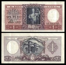 Argentina 1 PESO 1816-1947 ND 1952 P 260 XF-