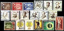 Germany Berlin 1957 Commemorative Issues Complete Set Used Scotts 9N144 to 9N161