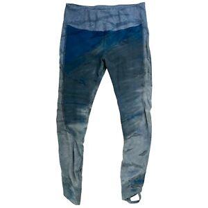 Hard Tail Forever Ombre Tie-Dye Leggings Sz LARGE  Blue