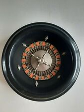 More details for vintage roulette wheel r.p & f paris