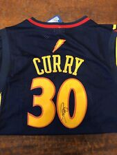 8a3108c0065 Steph Curry Signed Golden State Warriors Jersey Proof Coa Auto Stephen