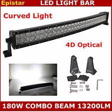 """32inch 180W Curved LED Light Bar Combo Fog Driving Work Lamp Offroad ATV 4D 33"""""""