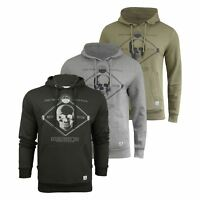 Mens Hoodie Firetrap Manotick Graphic Pullover Sweatshirt