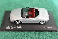 Minichamps 2003 Alfa Romeo Spider Silver 400 120330 - Scale 1:43