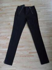ONLY high waist jeans / satin leggings black size S (8) brand new