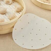 Non-stick Disposable Bamboo/Food Steamer Paper for Steam Basket Air Fryer CF